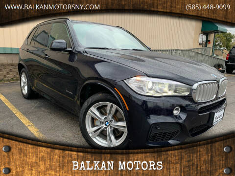 2015 BMW X5 for sale at BALKAN MOTORS in East Rochester NY
