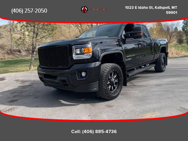 2016 GMC Sierra 3500HD for sale at Auto Solutions in Kalispell MT