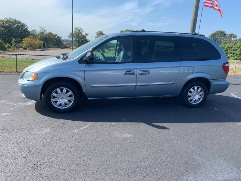 2005 Chrysler Town and Country for sale at Doug White's Auto Wholesale Mart in Newton NC