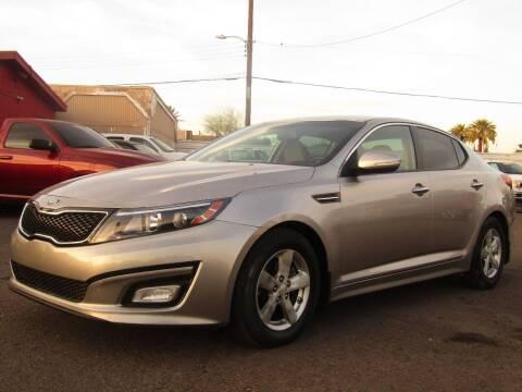 2014 Kia Optima for sale at Van Buren Motors in Phoenix AZ