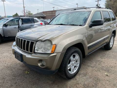 2006 Jeep Grand Cherokee for sale at Martinez Cars, Inc. in Lakewood CO