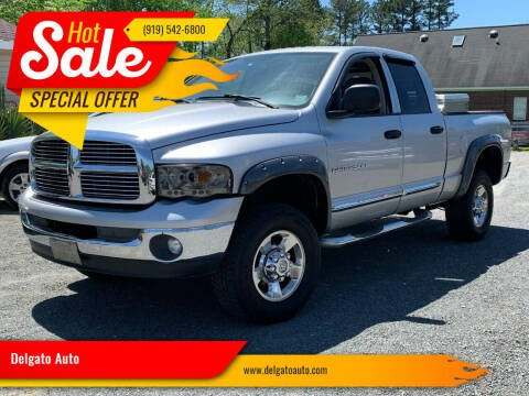 2005 Dodge Ram Pickup 2500 for sale at Delgato Auto in Pittsboro NC