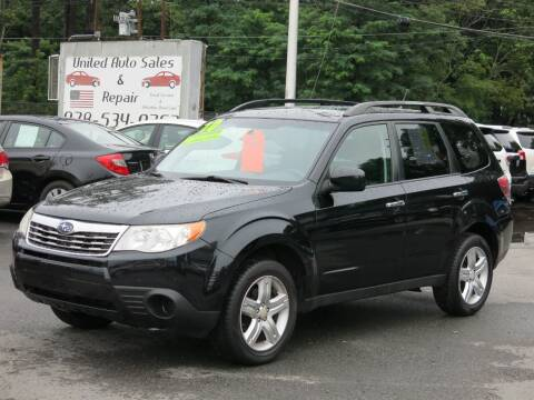 2010 Subaru Forester for sale at United Auto Service in Leominster MA