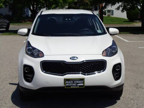 2018 Kia Sportage for sale at MAIN STREET MOTORS in Norristown PA
