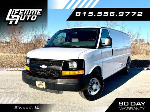 2012 Chevrolet Express Cargo for sale at Lifetime Auto in Elwood IL