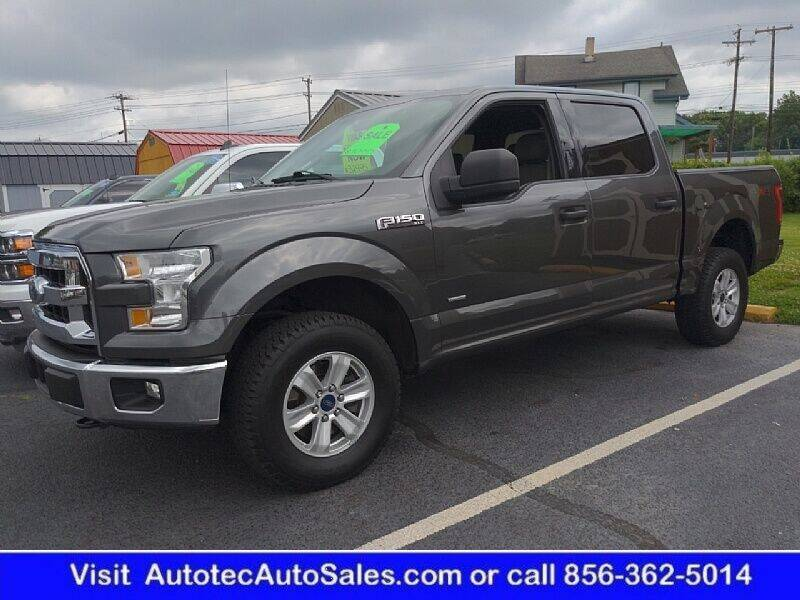 2016 Ford F-150 for sale at Autotec Auto Sales in Vineland NJ