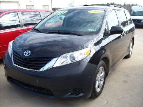 2011 Toyota Sienna for sale at Summit Auto Inc in Waterford PA