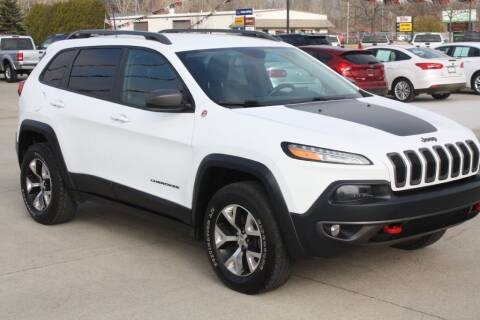 2016 Jeep Cherokee for sale at Sandusky Auto Sales in Sandusky MI