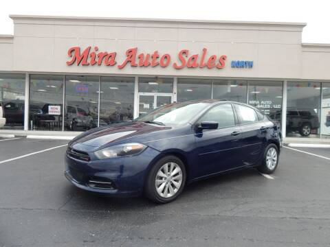 2014 Dodge Dart for sale at Mira Auto Sales in Dayton OH