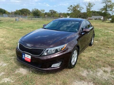 2015 Kia Optima for sale at LA PULGA DE AUTOS in Dallas TX
