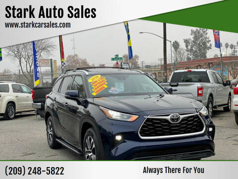 2020 Toyota Highlander for sale at Stark Auto Sales in Modesto CA