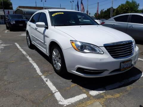 2012 Chrysler 200 for sale at Best Deal Auto Sales in Stockton CA