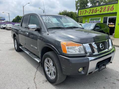 2011 Nissan Titan for sale at Empire Auto Group in Indianapolis IN