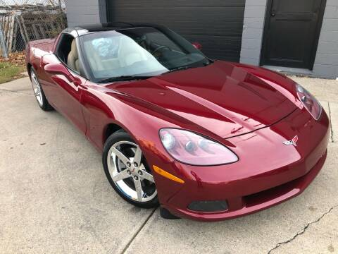 2006 Chevrolet Corvette for sale at Adrenaline Motorsports Inc. in Saginaw MI