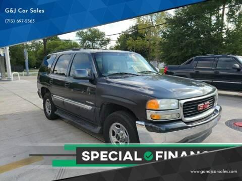 2005 GMC Yukon for sale at G&J Car Sales in Houston TX