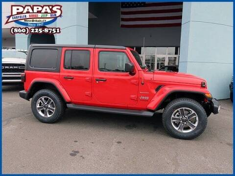 2021 Jeep Wrangler Unlimited for sale at Papas Chrysler Dodge Jeep Ram in New Britain CT