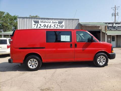 2009 Chevrolet Express Cargo for sale at Midwest Auto of Siouxland, INC in Lawton IA