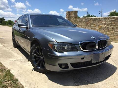 2007 BMW 7 Series for sale at Hi-Tech Automotive - Congress in Austin TX