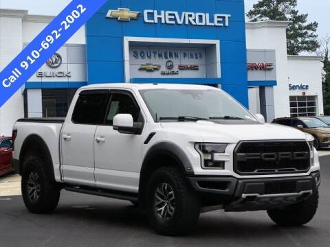 2018 Ford F-150 for sale at PHIL SMITH AUTOMOTIVE GROUP - SOUTHERN PINES GM in Southern Pines NC