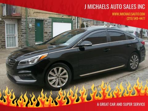2017 Hyundai Sonata for sale at J Michaels Auto Sales Inc in Philadelphia PA