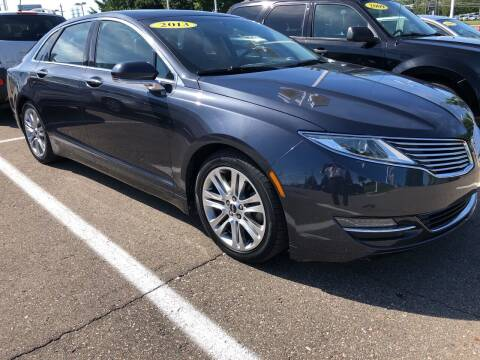2013 Lincoln MKZ for sale at MILLENNIAL AUTO GROUP in Farmington Hills MI