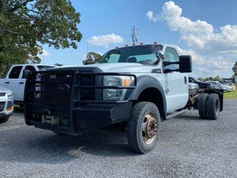 2012 Ford F-550 Super Duty for sale at TINKER MOTOR COMPANY in Indianola OK