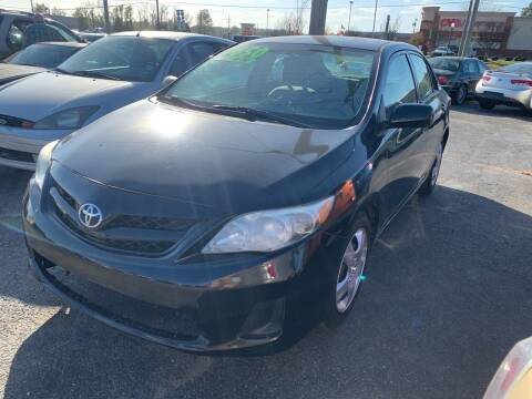 2012 Toyota Corolla for sale at Safeway Auto Sales in Horn Lake MS