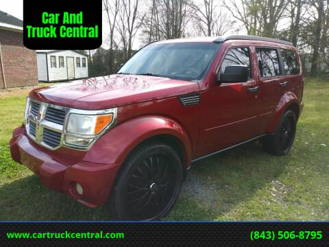 2007 Dodge Nitro for sale at Car And Truck Central in Dillon SC