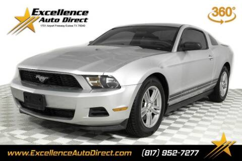 2012 Ford Mustang for sale at Excellence Auto Direct in Euless TX