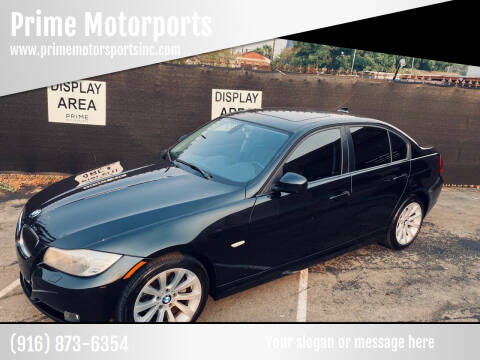2011 BMW 3 Series for sale at Prime Motorports in Sacramento CA