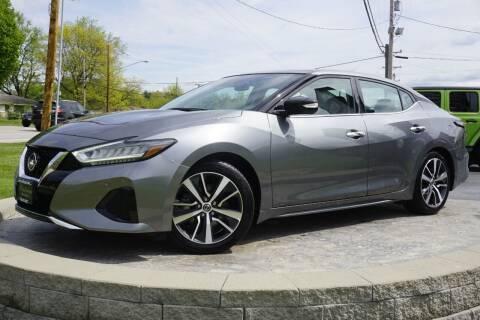 2020 Nissan Maxima for sale at Platinum Motors LLC in Heath OH