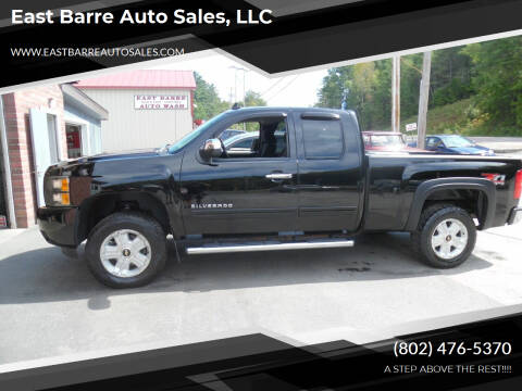 2010 Chevrolet Silverado 1500 for sale at East Barre Auto Sales, LLC in East Barre VT