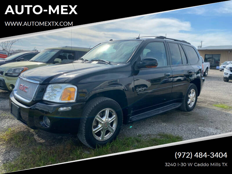 2005 GMC Envoy for sale at AUTO-MEX in Caddo Mills TX