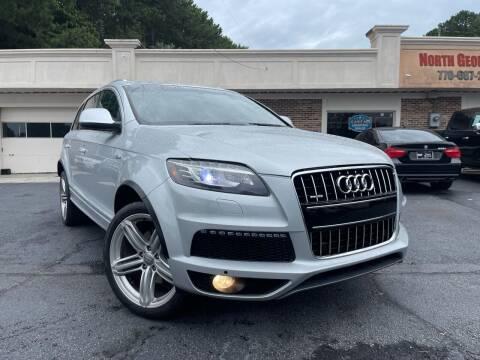 2013 Audi Q7 for sale at North Georgia Auto Brokers in Snellville GA