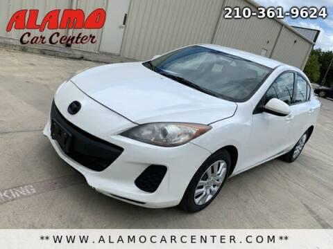 2013 Mazda MAZDA3 for sale at Alamo Car Center in San Antonio TX