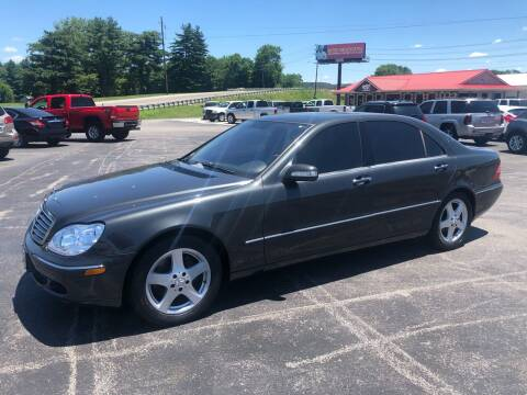 2004 Mercedes-Benz S-Class for sale at COUNTRYSIDE AUTO SALES in Russellville KY
