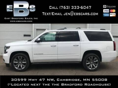 2015 Chevrolet Suburban for sale at East Bradford Sales, Inc in Cambridge MN