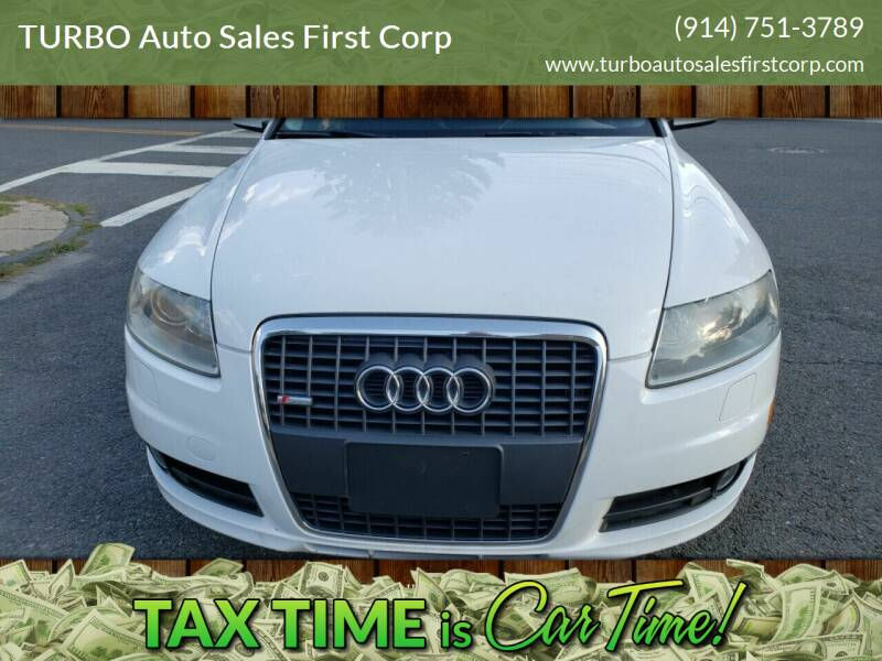 2008 Audi A6 for sale at TURBO Auto Sales First Corp in Yonkers NY