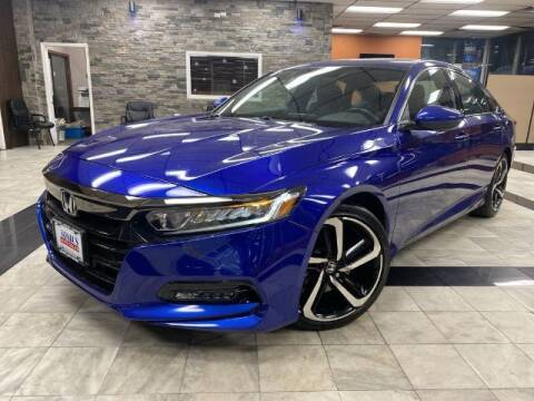 2018 Honda Accord for sale at Sonias Auto Sales in Worcester MA