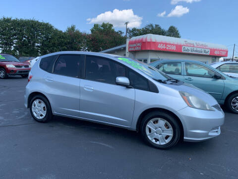 2013 Honda Fit for sale at Doug White's Auto Wholesale Mart in Newton NC