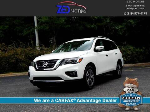 2017 Nissan Pathfinder for sale at Zed Motors in Raleigh NC