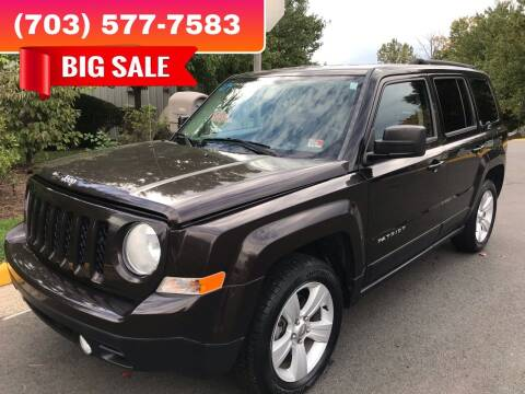 2014 Jeep Patriot for sale at Dreams Auto Group LLC in Sterling VA