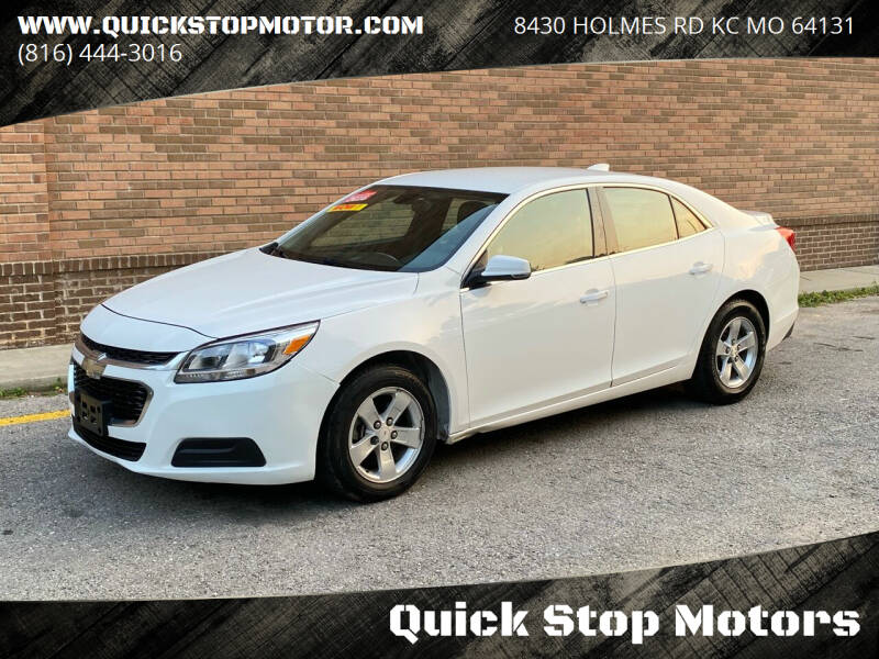2016 Chevrolet Malibu Limited for sale at Quick Stop Motors in Kansas City MO