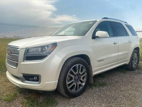 2014 GMC Acadia for sale at Platinum Car Brokers in Spearfish SD