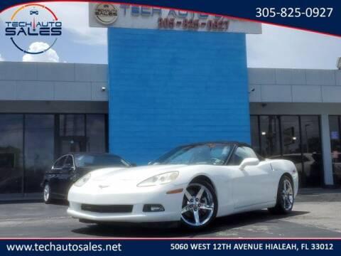 2008 Chevrolet Corvette for sale at Tech Auto Sales in Hialeah FL