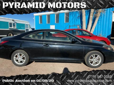 2008 Toyota Camry Solara for sale at PYRAMID MOTORS - Pueblo Lot in Pueblo CO