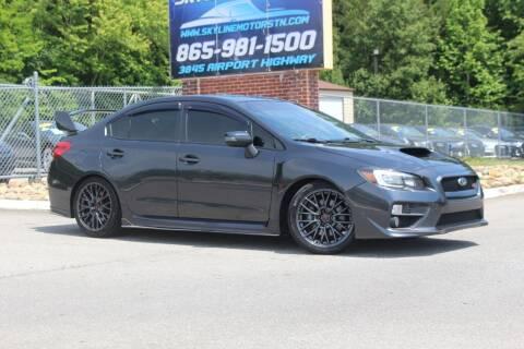 2016 Subaru WRX for sale at Skyline Motors in Louisville TN