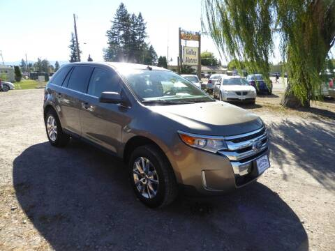 2014 Ford Edge for sale at VALLEY MOTORS in Kalispell MT