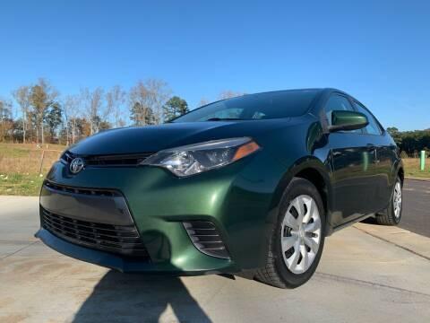 2015 Toyota Corolla for sale at El Camino Auto Sales in Sugar Hill GA