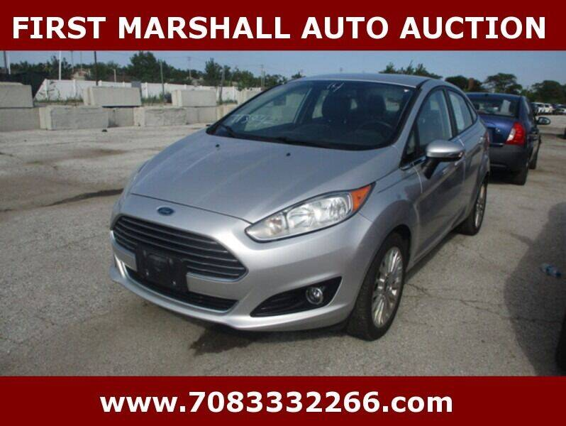 2014 Ford Fiesta for sale at First Marshall Auto Auction in Harvey IL